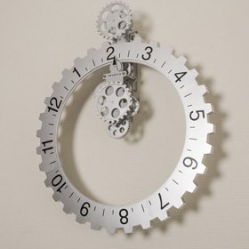 Invotis Big Hour Wheel Clock