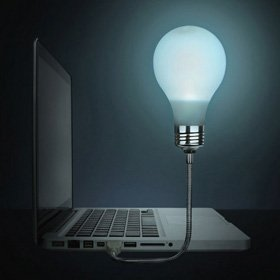 Bright Idea USB gloeilamp